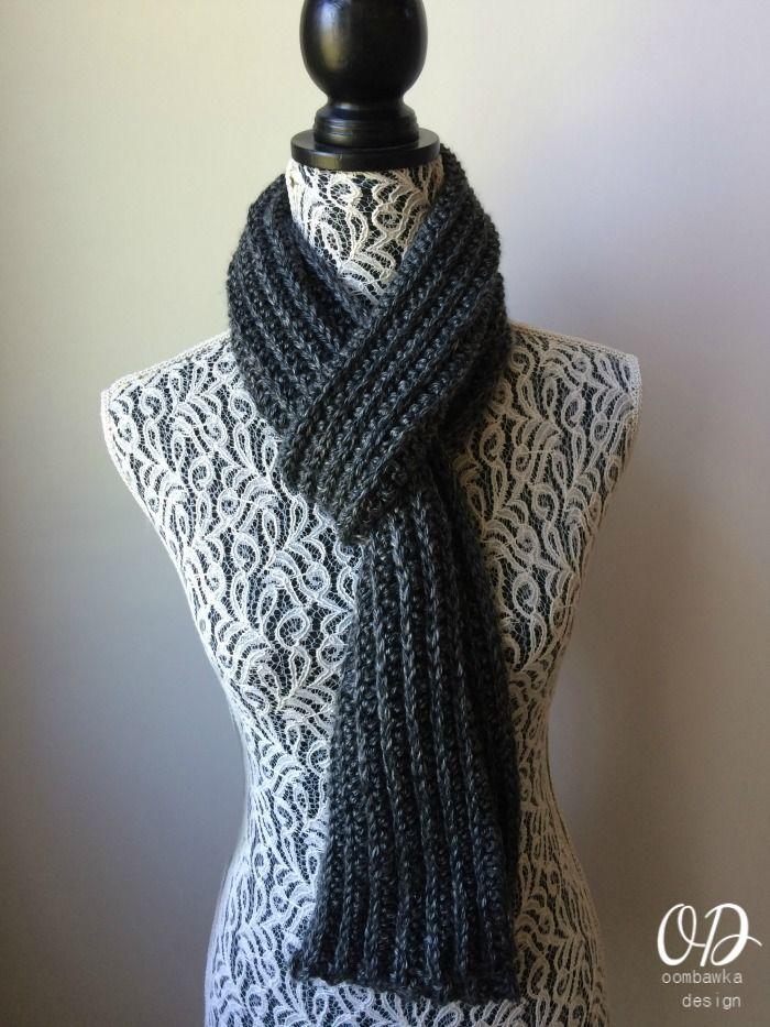532 mejores imágenes de Crochet scarves en Pinterest | Ganchillo ...