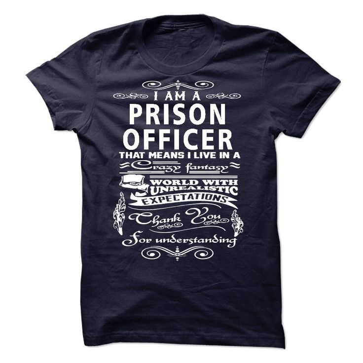I am a Prison Officer T-Shirts, Hoodies. Get It Now ==► https://www.sunfrog.com/LifeStyle/I-am-a-Prison-Officer-18753640-Guys.html?id=41382