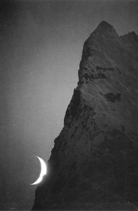 Henry could barely contain his excitement.  It was the right moon.  It was the right rock.  He held up the banana to the sky; it matched perfectly.  The treasure must be here.Mountain, Blue Sky, Nature, Beautiful, Month, Night Time, Crescents Moon, Photography, The Moon