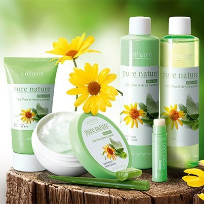Pure Nature Organic Aloe Vera & Arnica 80% Pure with soothing Arnica. Offers…