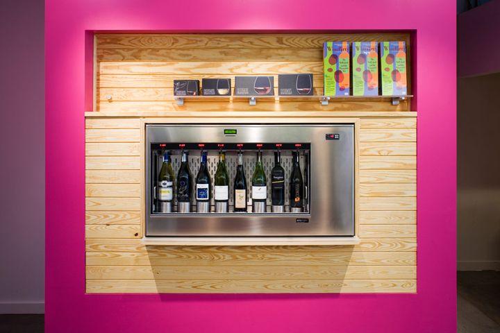 Чудесный винный магазин Winestore в США
