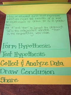 Scientific Method foldable: 5Th Grade Science, Science Ideas, Interactive Science Journals, Flip Books, Scientific Method Foldable, Writing Process, Food Science, Scientific Process, Inspiration Classroom