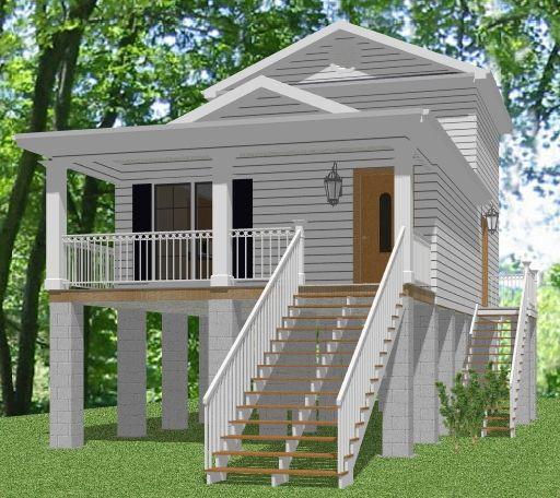 shotgun style house plans front view cabin small cottage plans house plans cottage plan. Black Bedroom Furniture Sets. Home Design Ideas