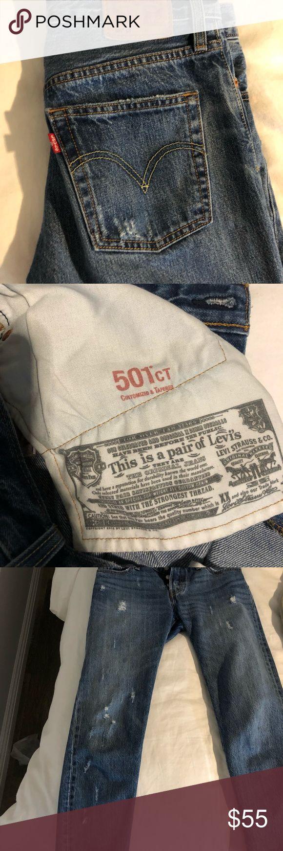 I just added this listing on Poshmark: Levi jeans! 501, worn under 3 times.. #shopmycloset #poshmark #fashion #shopping #style #forsale #Levi's #Denim