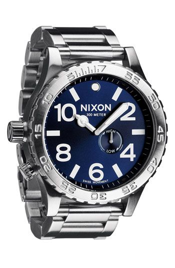Nixon 'The 51-30' Bracelet Watch available at #Nordstrom
