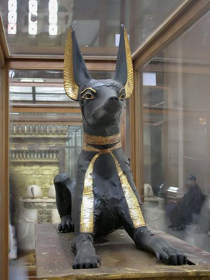 Egyptian God Annubis Museum of Antiquities in Cairo, Egypt