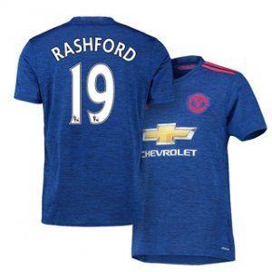 uniforme azul del manchester united