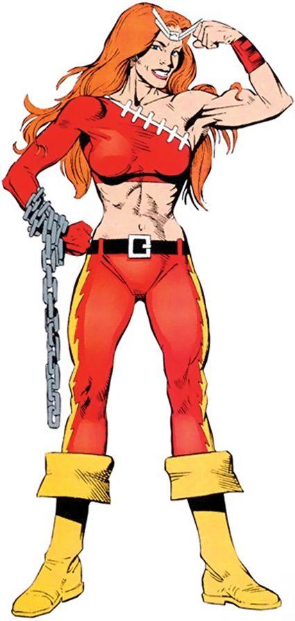 Thundra - Marvel Comics - Fantastic Four character - Femizon