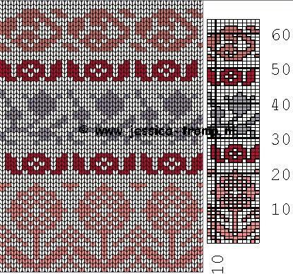 469 best Жаккард images on Pinterest   Knit patterns, Knitting ...