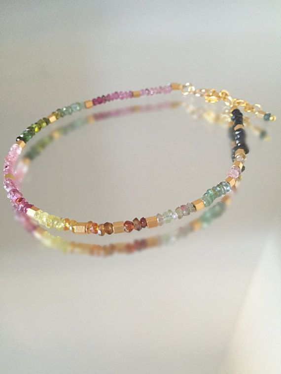 You Are My Soulmate Bracelet. Semi Precious by LilyFloJewellery