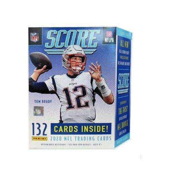 2020 Nfl Score Football Trading Card Blaster Box Same Day Shipping Ebay Football Trading Cards Nfl Cards