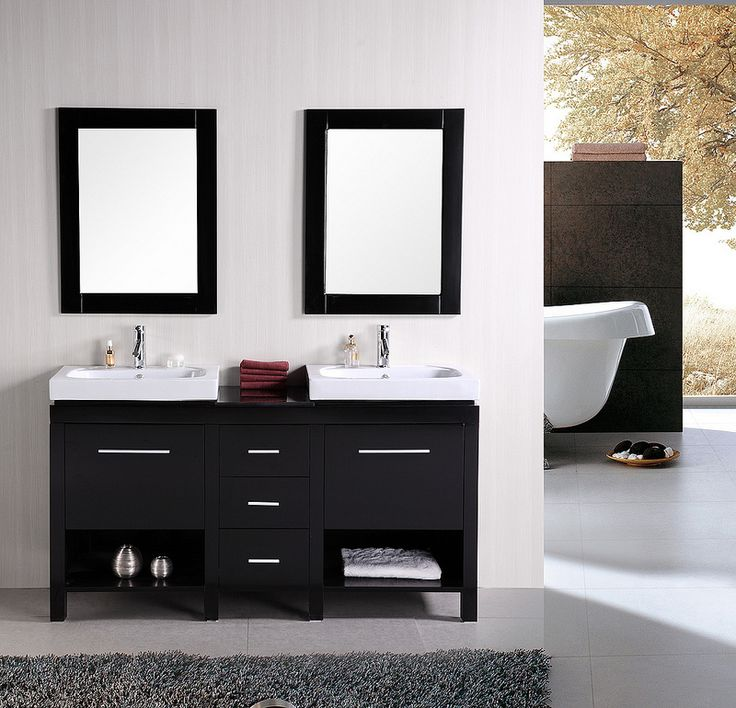 Beautiful Modern Bathroom Vanity 60 Inch