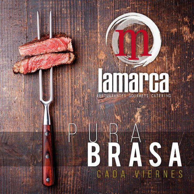 Viernes.Noche Pura Brasa, la mejor carne a la brasa acompañada de la mejor verdura a la parrilla. Buena elección!!!