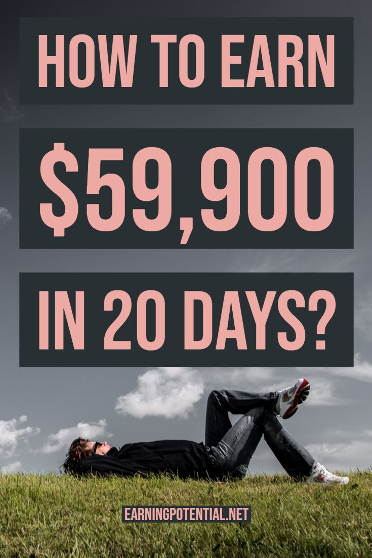 How to earn $59,900 in 20 days? – Earning Potential | Affiliate | Make Money | Online Jobs | Passive Income | Work From Home | Blog