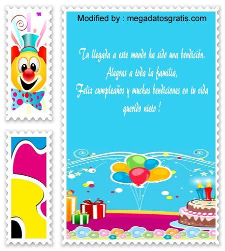 palabras de cumpleaños para mi nieto,saludos de cumpleaños para mi nieto : http://www.megadatosgratis.com/frases-de-cumpleanos-para-un-nieto/
