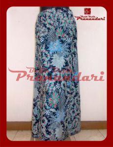 Rok A Batik Solo Kombinasi Bordir Halus Tasik Birdong