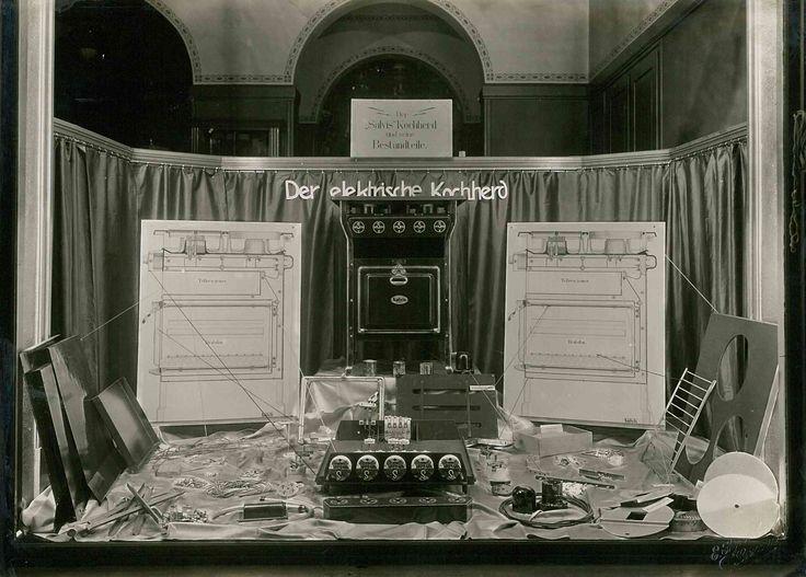 Ausstellung- Der elektrische Kochherd um 1920
