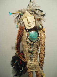 WHEN THE SPIRIT MOVES ME....: ...Spirit Figure ~ music man