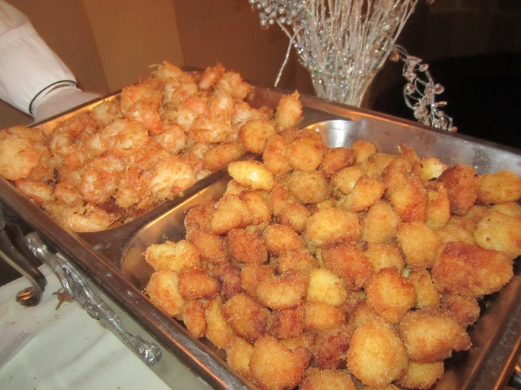 Coconut Shrimp & Baccala Fritters