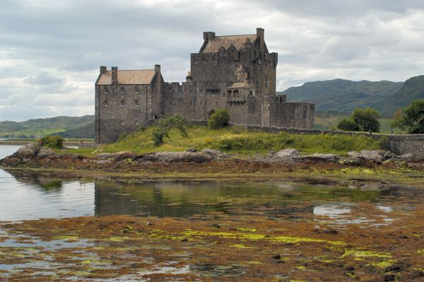Eilean Donan Castle - always pass on the way to visit the fam!