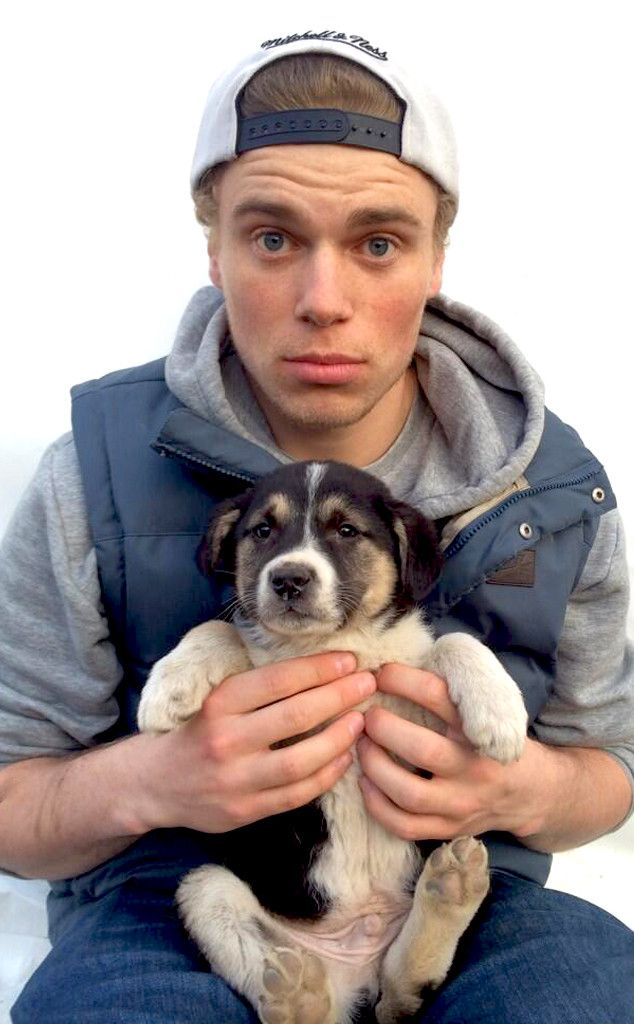 Gus Kenworthy, Olympics, Sochi saving stray puppies in Sochi