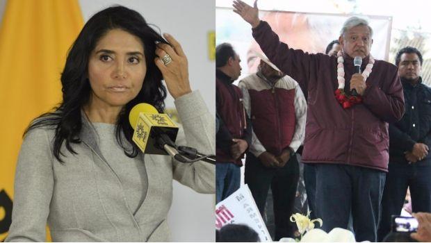La presidenta nacional del Sol Azteca indicó que se unirán al proyecto de López Obrador si así lo decide su militancia.