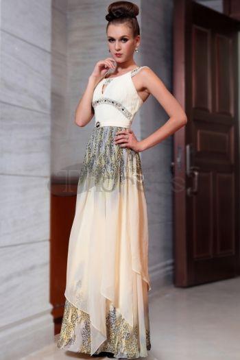 Abiti in Magazzino-stile unico di spaghetti sexy stampano indossare abiti molto formali per le donne nuovo arrivo 30849