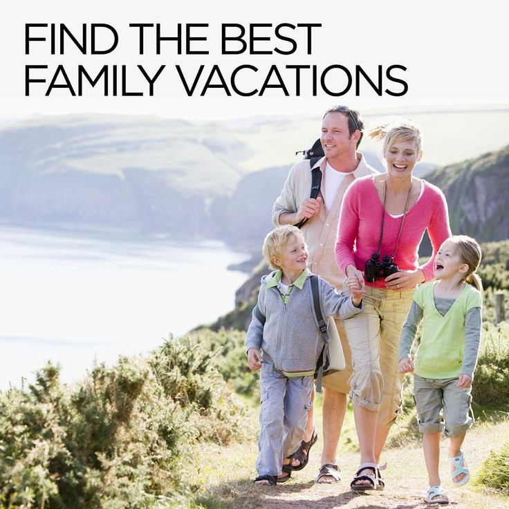 There's no better way to bring the whole family together than with family vacations. #FamilyVacation