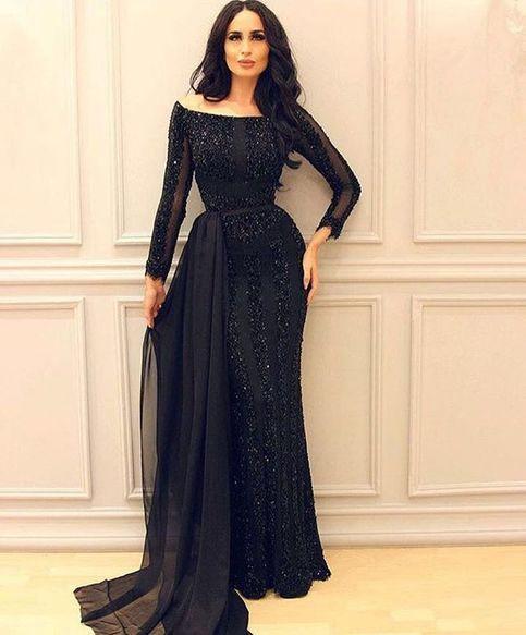 Gentle White Muslim Evening Dresses 2019 Mermaid High Collar Long Sleeves Lace Slit Islamic Dubai Saudi Arabic Long Evening Gown Prom In Short Supply Evening Dresses