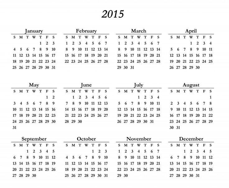 Sample 3 Month Calendar Template 2017 Blank Yearly Calendar - sample 2015 calendar