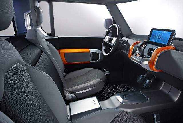 2019 Land Rover Defender Pickup Truck cabin - Concept Cars Group Pins