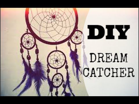 DIY - dream catcher/ filtro dos sonhos - YouTube