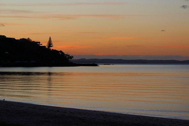 Autumn Sunset, Maraetai Beach,Auckland,NZ by scinta1, via Flickr