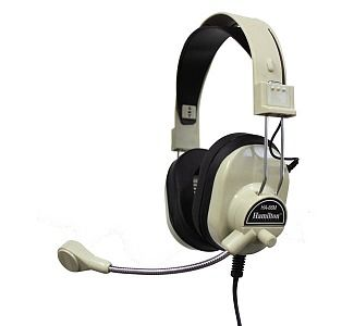 Headphone with Microphone and Volume Control. Good for podcasting.