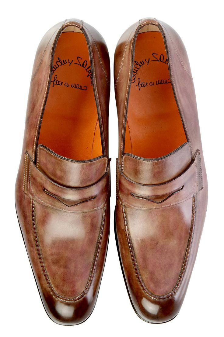 John Lobb Shoes >> Santoni   men shoes   Pinterest   Zapatos, Calzado y Caballeros
