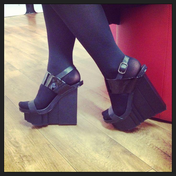 United Nude, Rockefella Slingback heel. Heels at their prime.