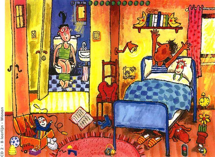 32 beste afbeeldingen over huis praatplaten op pinterest ballerina 39 s zoeken en deuren - Slaapkamer lay outs ...