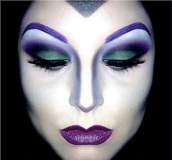 Imagen De bruja del artículo Fotos de Maquillaje de Halloween fácil para mujer 2017 | Paso a paso