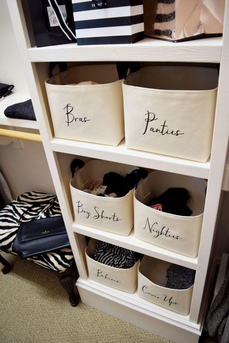 Custom Closet Organizer Basket Closet Storage Bins Room