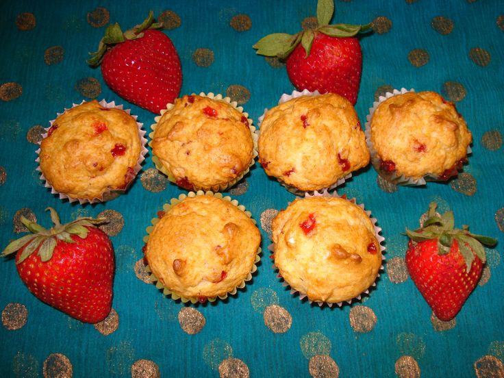 Scrumptious Strawberry Muffins