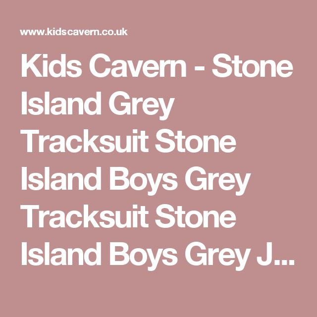 Kids Cavern - Stone Island Grey Tracksuit Stone Island Boys Grey Tracksuit Stone Island Boys Grey Jogsuit - Armani Junior, D&G, Childrens Clothing, Designer clothes, fashion, Kids Cavern, D and G, Kids Clothing