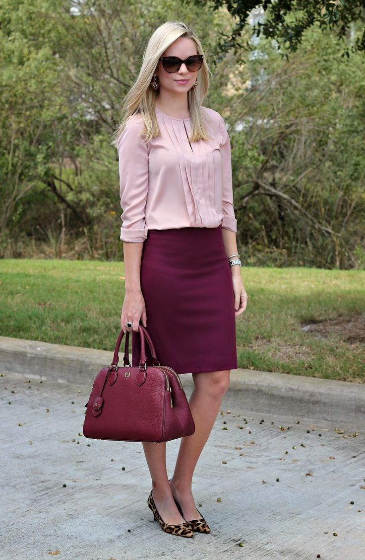 17 Best ideas about Burgundy Skirt on Pinterest | Maroon skirt ...