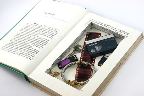 How to Make a Hollow Book: 13 steps (with pictures) - wikiHow