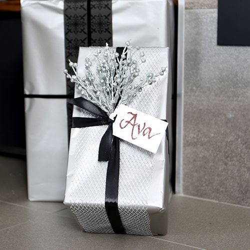 Luxe Christmas Theme Wrapping