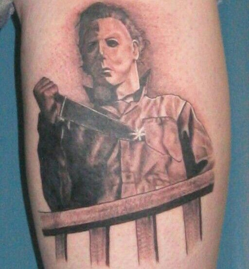 69 best images about michael myers on pinterest for Michael myers tattoo