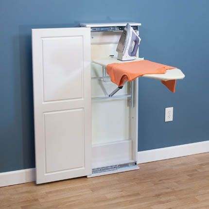 Awesome Pull Out Ironing Board Cabinet