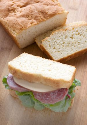 You can never have too many gluten free bread recipes. I especially love making this sandwich bread for lunches!