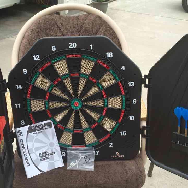Dart board ($30) is on sale on Mercari, check it out! https://item.mercari.com/gl/m607565114/