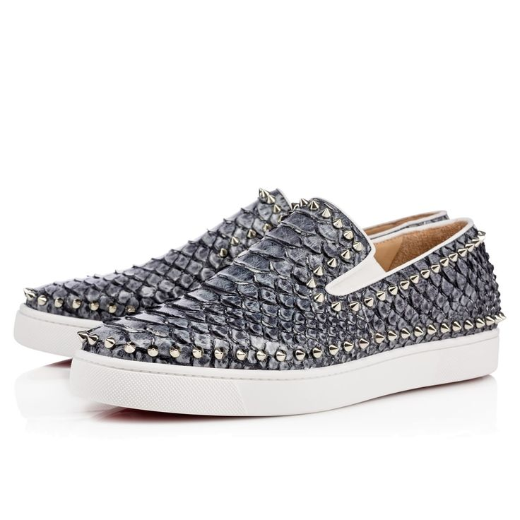 ca5da00902a4 ... louboutin pik boat men s flat Multi Leather christian louboutin sailor  flat Version Colombe Python · christian louboutin louis strass men s flat  Navy ...
