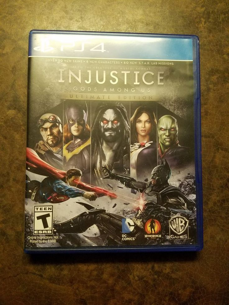 Injustice Gods Among Us Ultimate Edition (Sony